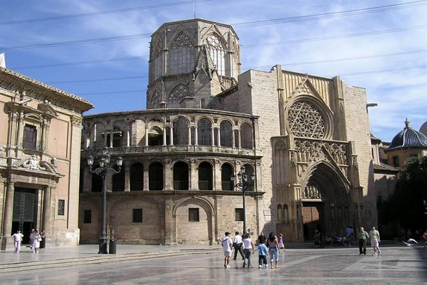 Valencia Cathedral and The Holy Grail in Valencia